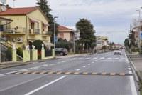 Terminati i lavori per rendere più sicura via Ugo Bassi