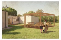 Una nuova aula all'aria aperta alla scuola elementare di San Martino dei Mulini