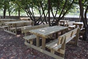 Una nuova aula per la didattica all'aperto alla scuola media Franchini