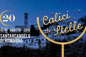 """Venerdì 10 e sabato 11 agosto a Santarcangelo la 20esima edizione di """"Calici di Stelle"""""""