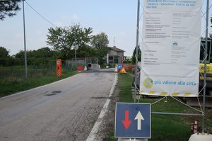 Via Savina, da lunedì 10 settembre i lavori per la ricostruzione del ponte sul canale Oriale Sarzano