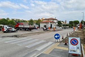 Via Togliatti, al via i lavori per il percorso in sicurezza