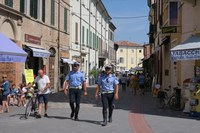 Weekend Santarcangelo: rafforzata la presenza degli agenti della Polizia locale con il coordinamento dei Carabinieri
